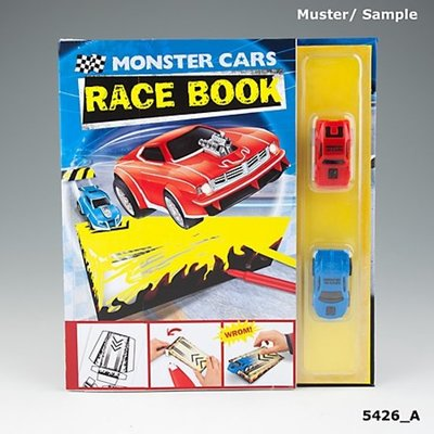 Monster Cars race boek
