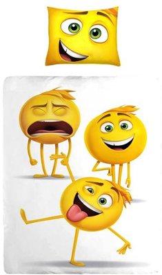 Emoji eenpersoons Dekbedovertrek