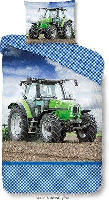 Good Morning Strong kinderdekbedovertrek Tractor eenpersoons