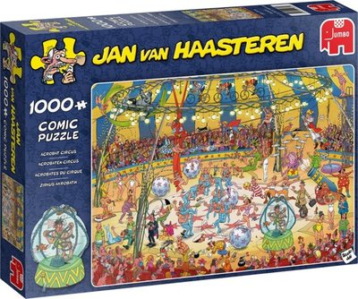 Jan van Haasteren Acrobaten Circus Puzzel 1000 Stukjes