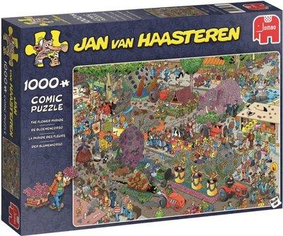 Jan van Haasteren - De Bloemencorso -  Puzzel 1000 Stukjes