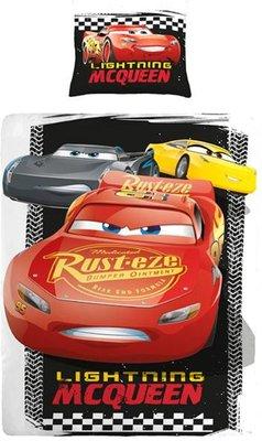 Disney Cars - Dekbedovertrek - Eenpersoons - 140x200 cm + 1 kussensloop 60x70 cm - Multi kleur