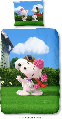 Snoopy Dekbedovertrek Love 3D