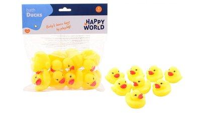 Happy World badeendjes 8 stuks zak