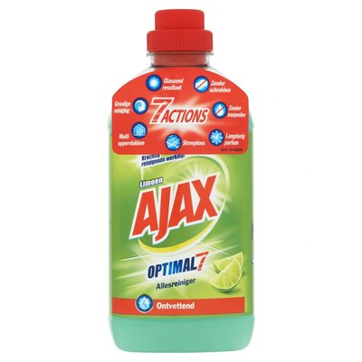 Ajax Allesreiniger Optimal7 Limoen 750 ml