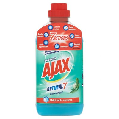 Ajax Allesreiniger Optimal7 Eucalyptus 750 ml