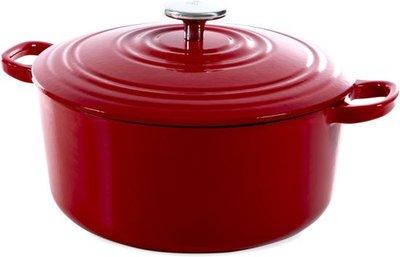 BK Bourgogne Braadpan - 24 cm - Chili Red