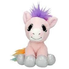 Ylvi & the Minimoomis knuffel Pony Roosy Rainbow
