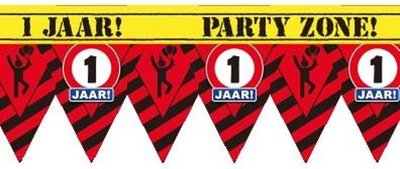 Party Tape - 1 Jaar