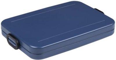 Mepal Lunchbox Take A Break Flat - Nordic Blue
